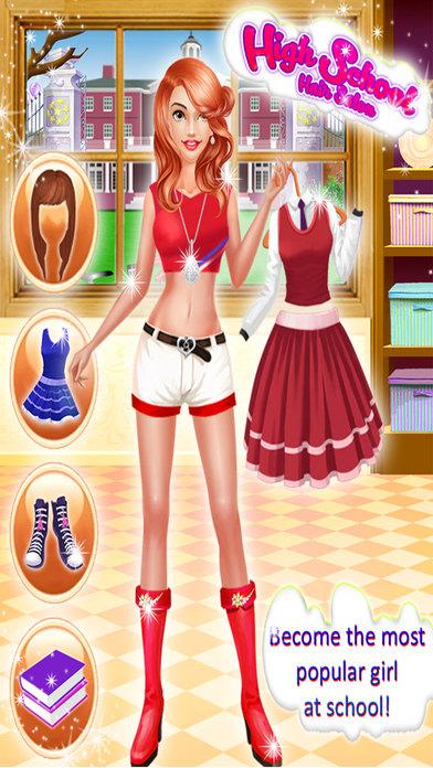 High School Girls Hair Salon screenshot 4