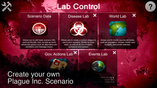 Plague Inc: Scenario Creator Screenshots