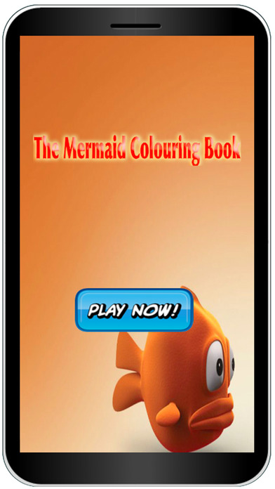 Beautiful Mermaid Colouring Book Game App Download