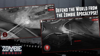 Screenshot #7 for Zombie Gunship: Gun Down Zombies