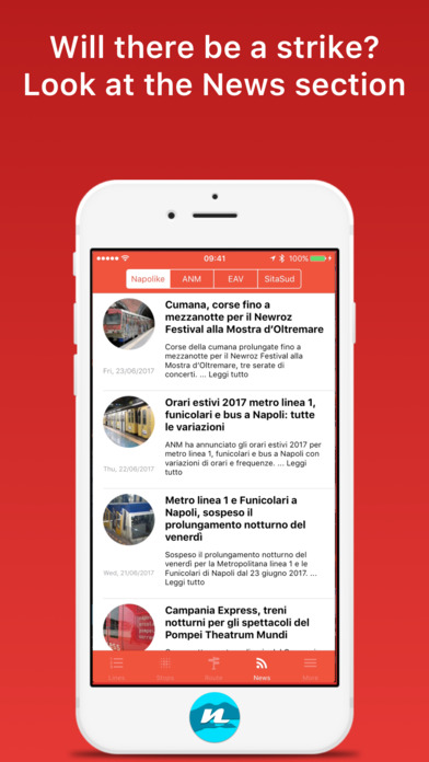 app shopper gira napoli timetables and vehicle tracking navigation. Black Bedroom Furniture Sets. Home Design Ideas