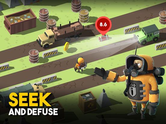 Screenshot #2 for Bomb Hunters