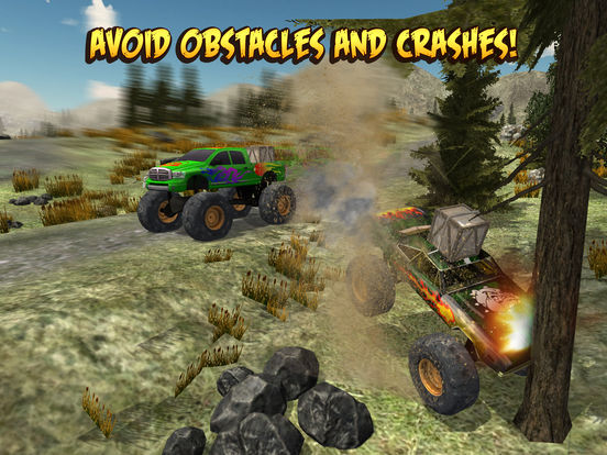 Скачать 4x4 Monster Truck Racing