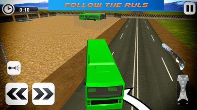 Offroad Tourist Coach Sims - Hill Station Drive screenshot 3