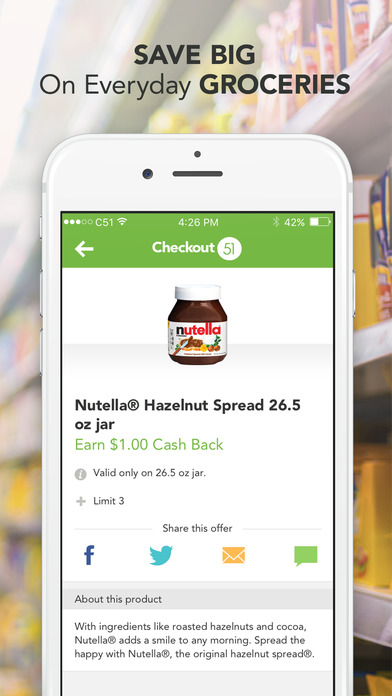Apps for grocery store coupons