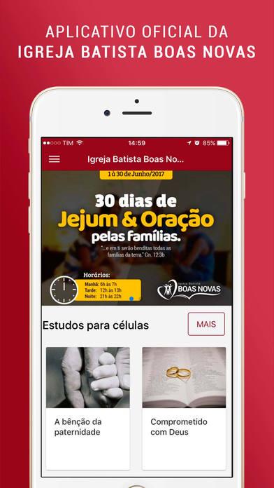 Igreja Batista Boas Novas screenshot 2