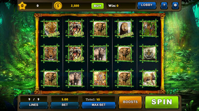 Screenshot 4 Tiger Secret Chest: Royal' Animals 7s Slot Machine