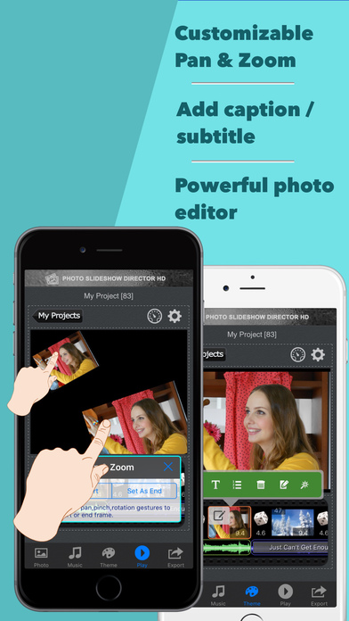 Photo Slideshow Director Pro -  Music Video Editor Screenshots