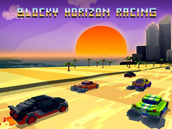 Horizon Blocky Racing Full screenshot 5
