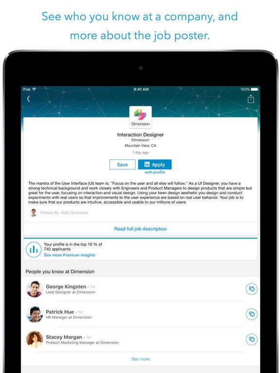LinkedIn Job Search screenshot 7