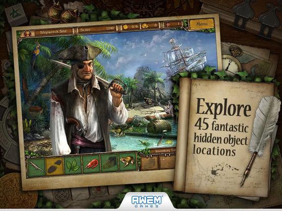 Screenshot #1 for Golden Trails 2: Hidden Object Adventure