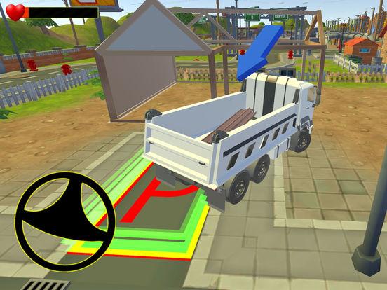 Euro truck cargo construction screenshot 9