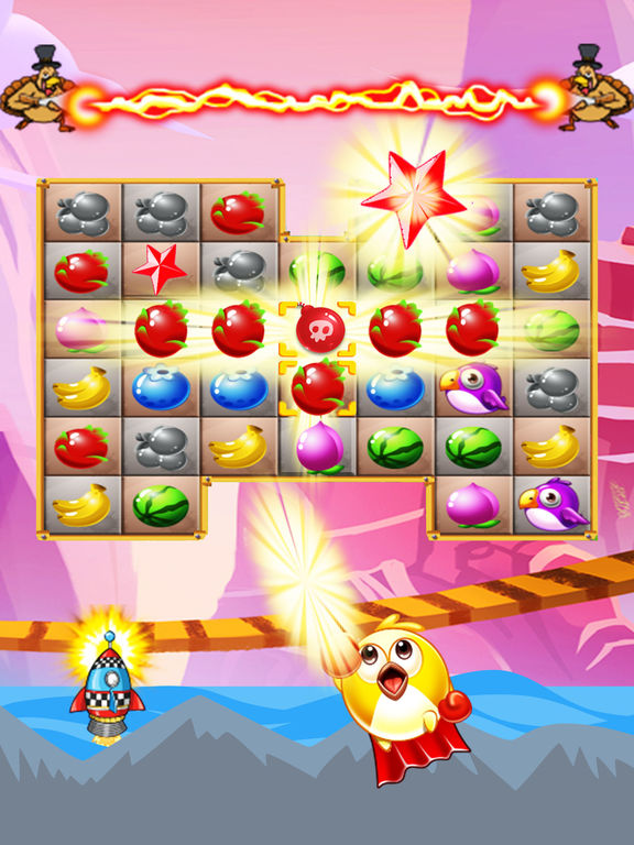 Sweet Fruits & Birds screenshot 8