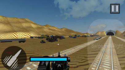 Euro Train Gunner Battle 2017 screenshot 4