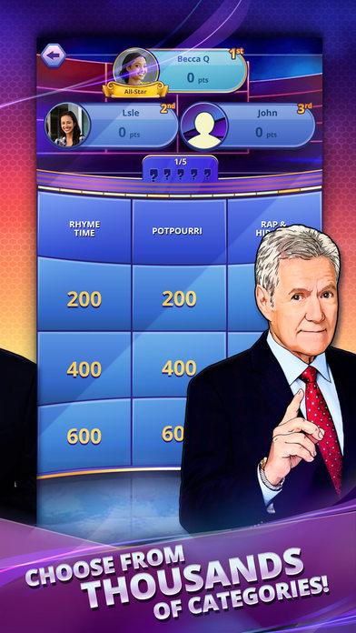 Jeopardy! World Tour screenshot 3