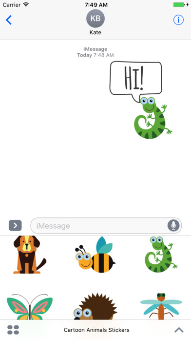 how to make a imessage in bold iphone