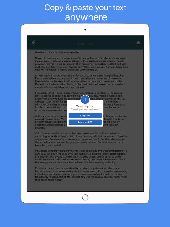 Scan mate - PDF document scanner & printer Screenshots