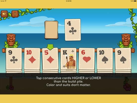 Tiki Solitaire screenshot 5
