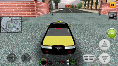 Taxi Simulator 2017: City Car Driving screenshot 2