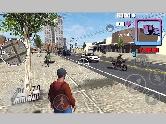 Mad Crime Town Wars Two Islands screenshot 10