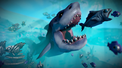 GIANT OCEAN MONSTER - FEED AND GROW FISH screenshot 1