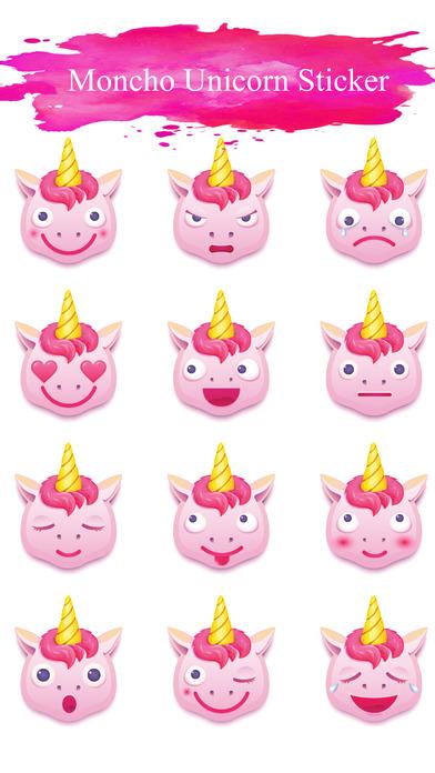 Feelings Unicorn Stickers screenshot 1