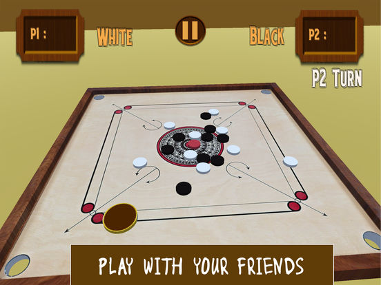 Carrom 3D-Realistic Counter Striker Finger Flick screenshot 6