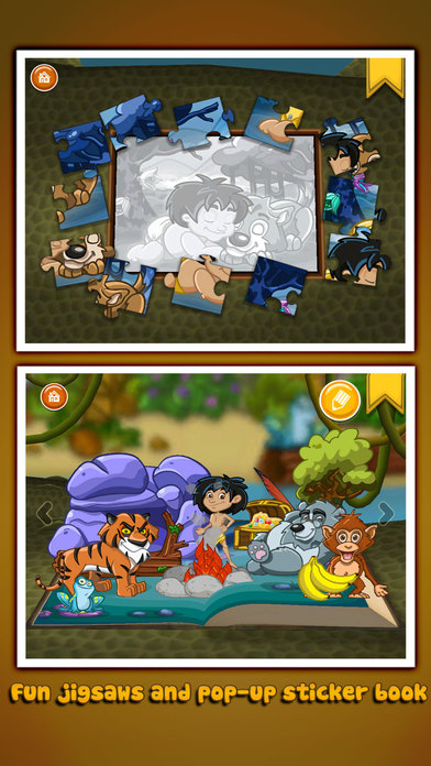 The Jungle Book ~ 3D Interactive Pop-up Book Screenshots