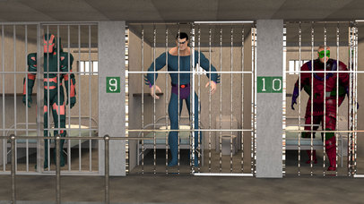 Incredible Monster Prison: Superhero Escape screenshot 1