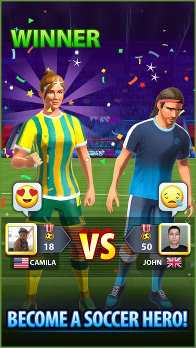 Soccer! Hero screenshot 5