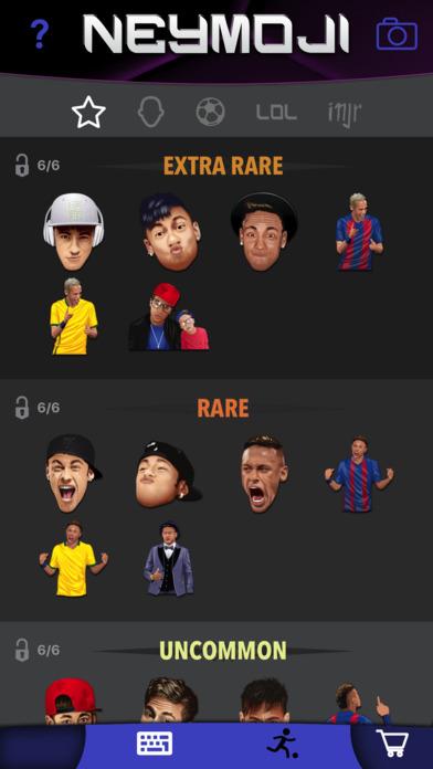 Neymoji - Official Neymar Stickers screenshot 3