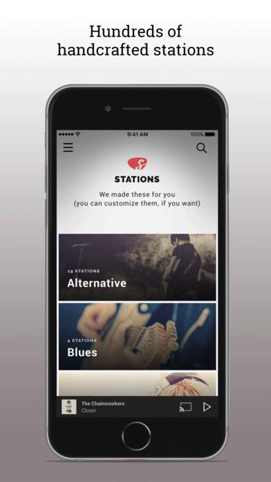 Screenshots for Slacker Radio