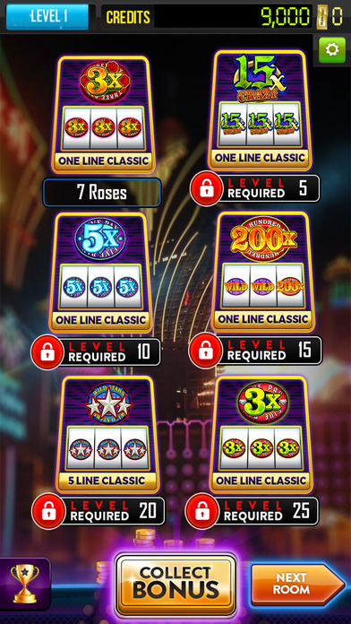 Screenshot 1 Diamond Line Slots