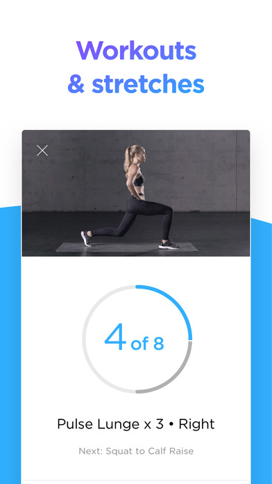 Zova Fitness Trainer Screenshot