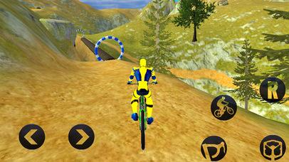 Spider Superhero Bicycle Riding: Offroad Racing screenshot 3