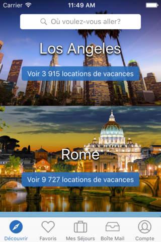 HomeAway Vacation Rentals screenshot 1