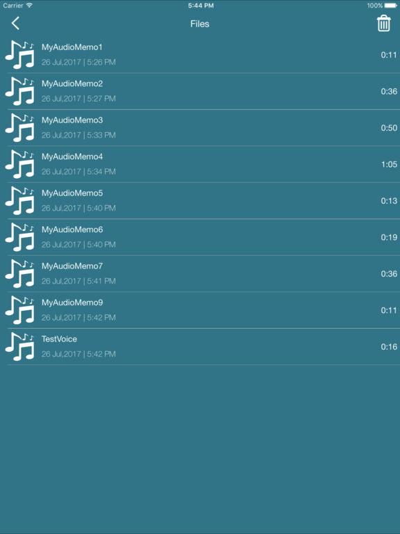 Voice Recorder PRO - Audio Memos & Voice Notes Screenshots