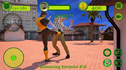 Fidget Spinner Superhero Street Battle screenshot 2