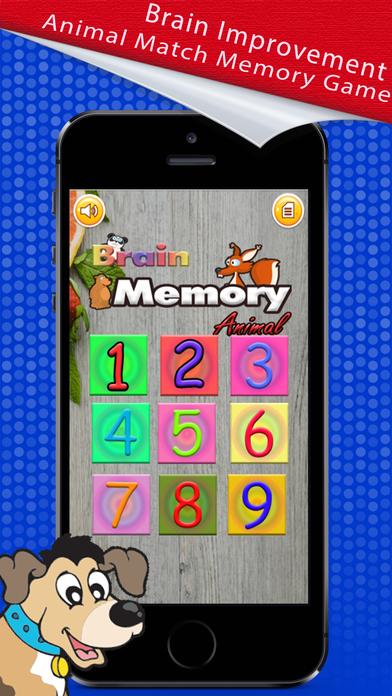 Memory Match : Animal Card Game screenshot 1