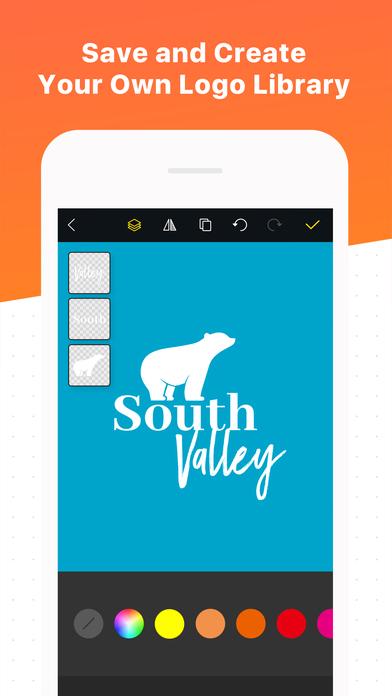Logo maker shop text graphic design creator on the app for Blueprint maker app