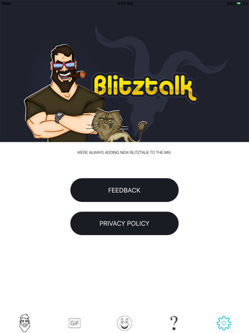 BlitzTalkApp screenshot 3