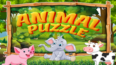 Animal Puzzle: Jigsaw for toddlers screenshot 1