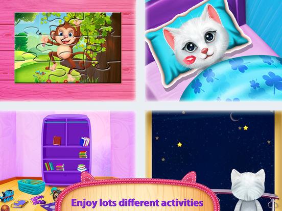 Cute Kitty's Bedtime Activities screenshot 10