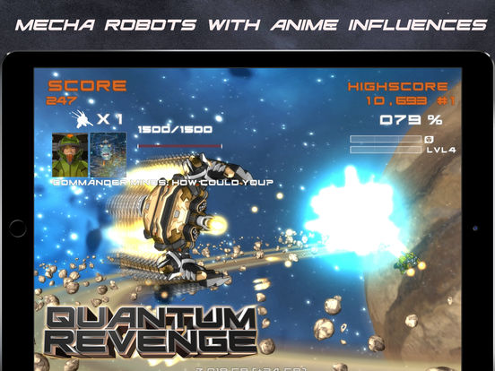 Quantum Revenge Screenshots
