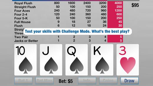 Video Poker Brain X Screenshots