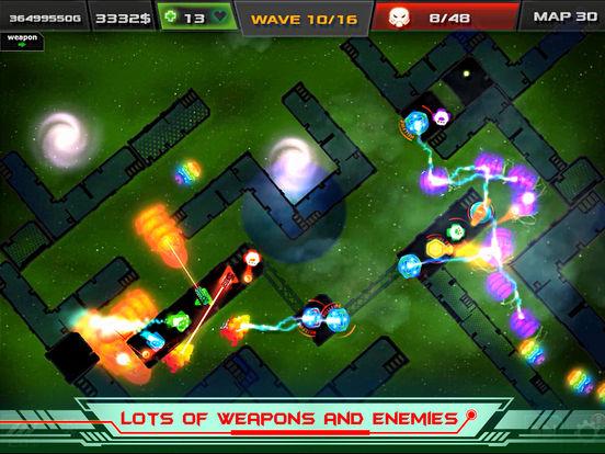 Galaxy Glow Defense screenshot 9