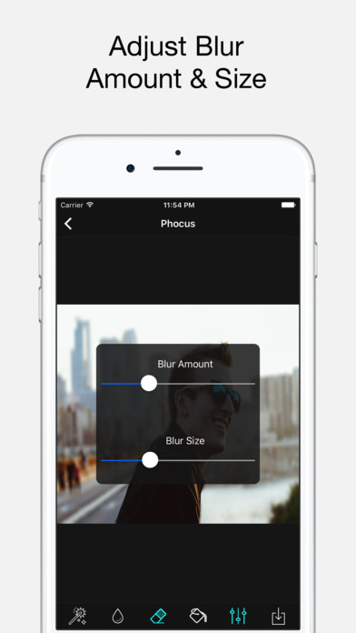Phocus: Portrait mode editor screenshot 4