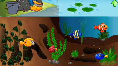 Fishing game for toddlers screenshot 1