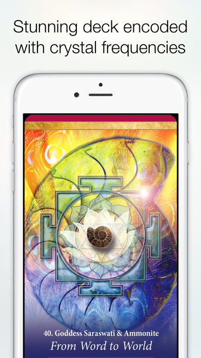 Crystal Mandala Oracle screenshot 2