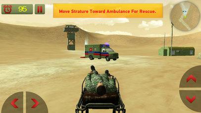 US Army Ambulance Rescue Game screenshot 4